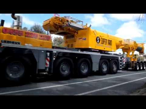 Massive truck convoy - Canberra Australia 2017