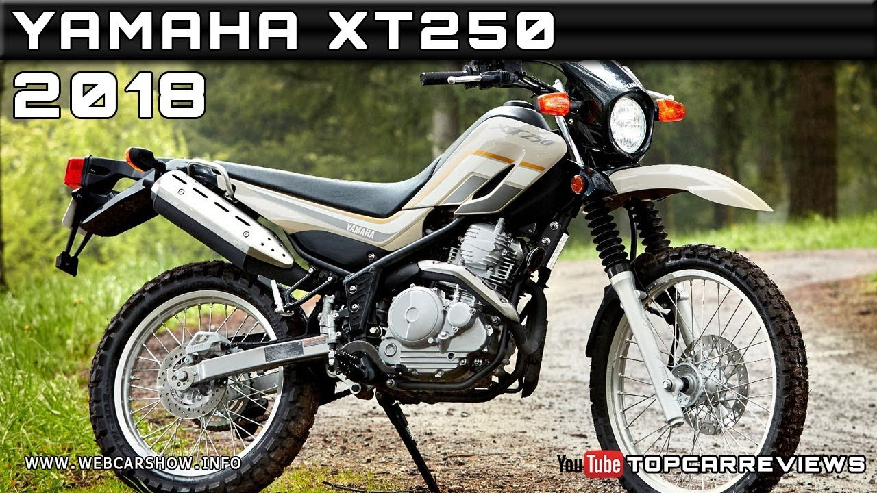 2018 yamaha xt250 review rendered price specs release date for Yamaha xt250 specs