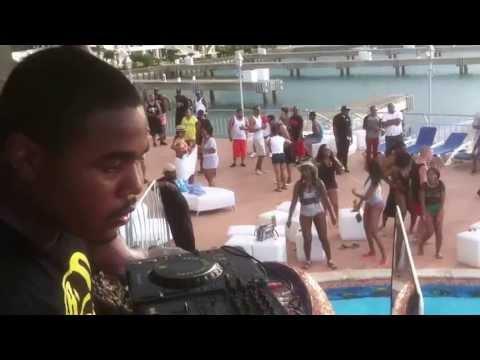 Dj Sir Manny live @ Dominican Republic Memorial Day Weekend Getaway 2013