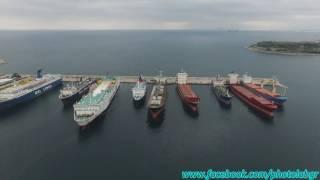 Aerial (drone) video - Νέος Μώλος Δραπετσώνας