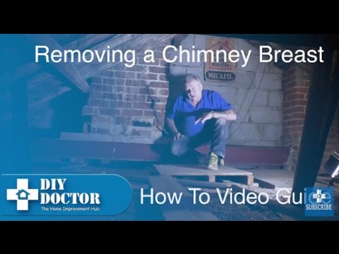 Chimney Breast or Chimney stack Removal