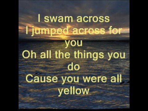 Coldplay-Yellow-Lyrics