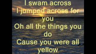 Coldplay-Yellow-Lyrics thumbnail