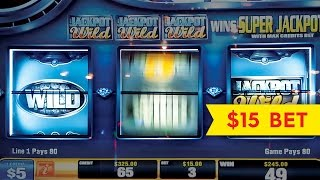 U-Spin Slot - BIG WIN & Bonus - Diamond Heat!