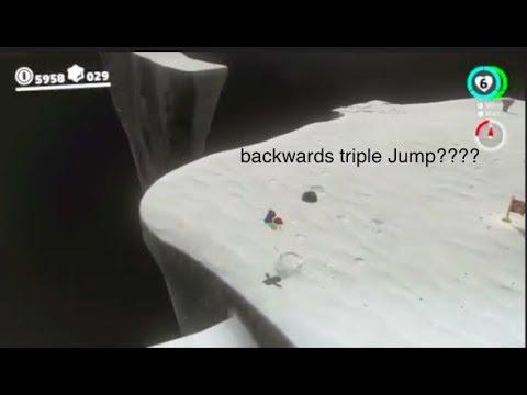 Backwards Triple Jump in Super Mario Odyssey?!