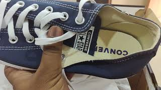 Converse sneakers unboxing and tips for its authenticity and originality