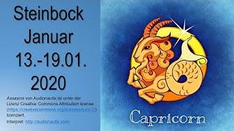 Taroskop Steinbock 13.-19.01.2020