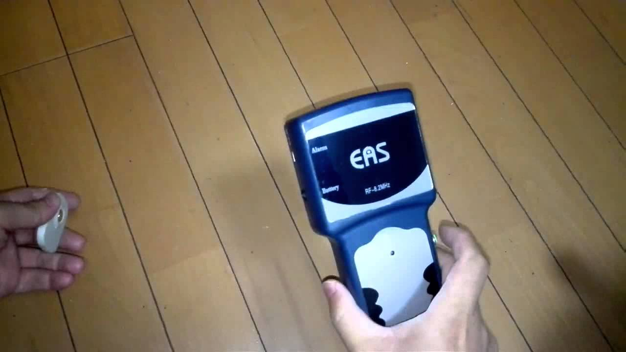 High quailty EAS Handheld Detector Tester for Antenna RF tag or label 8.2Mhz