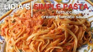 Video Simple Pastas: Fettuccine with Creamy Tomato Sauce download MP3, 3GP, MP4, WEBM, AVI, FLV Januari 2018