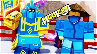 LVL 95 TRIES TO GO INTO SAMURAI NIGHTMARE NOT PREPARED... (ROBLOX DUNGEON QUEST)