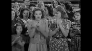 "June Preisser ""Getting the kinks out"" in Babes In Arms (1939)"