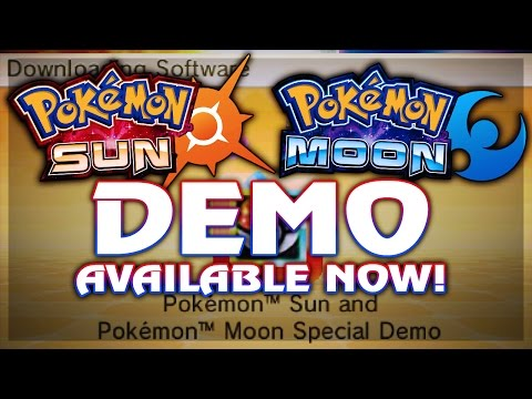 HOW TO DOWNLOAD POKEMON SUN AND MOON DEMO! AVAILABLE NOW! w/ Hydros Pokemon Sun & Moon News