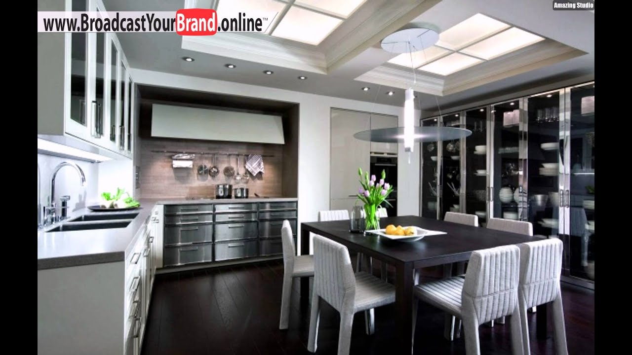 siematic k che edelstahl wei glanz esstisch youtube. Black Bedroom Furniture Sets. Home Design Ideas