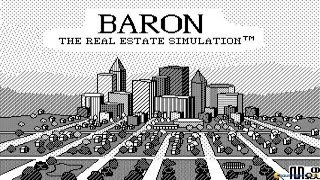 Baron: The Real Estate Simulation gameplay (PC Game, 1986)