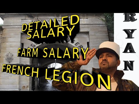 SALARY DETAILED INFO FRENCH LEGION INTERNATIONAL ADVERTISEMENT
