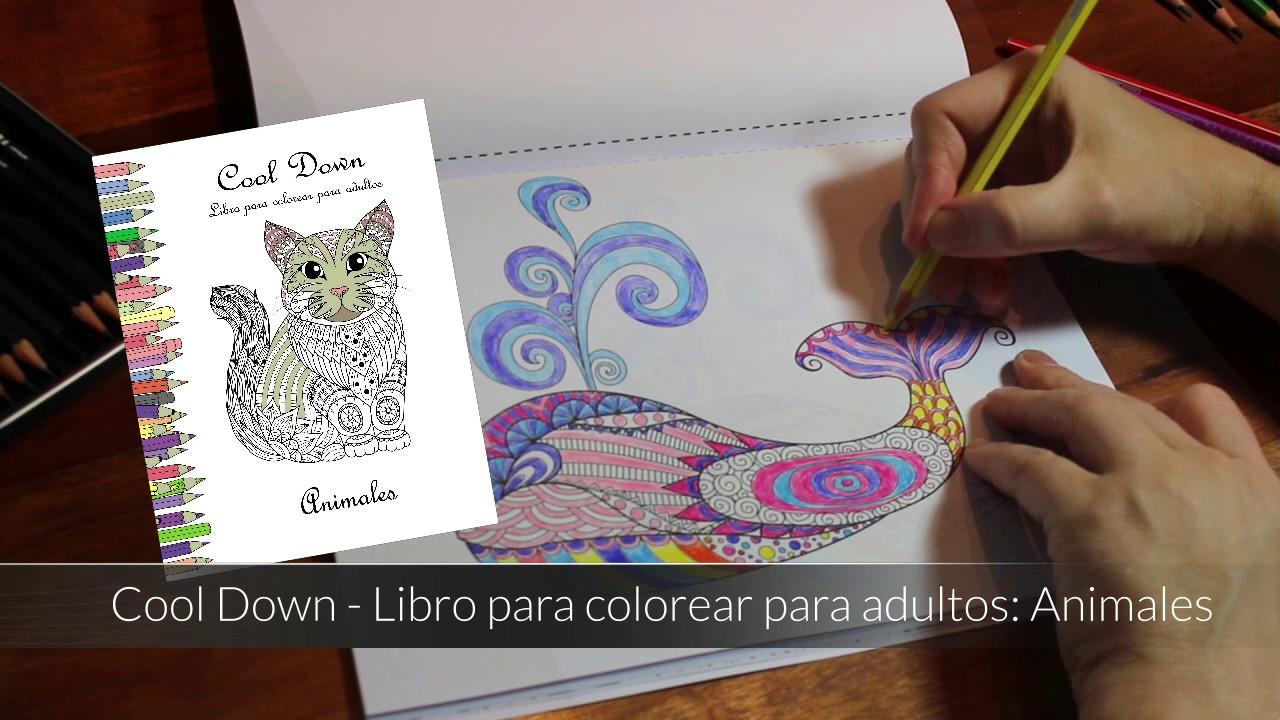 Cool Down - Libro para colorear para adultos: Animales - YouTube