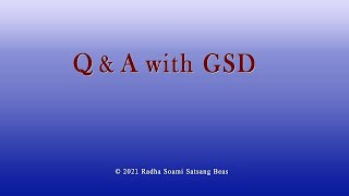 Q & A with GSD 053 Eng/Hin/Punj
