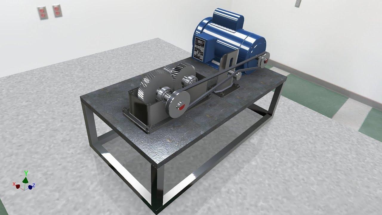 3d Modeling Wallpaper Solidworks Autodesk Inventor Design Accelerator Gear Box Youtube