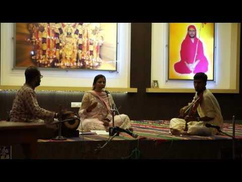 Anita's Carnatic Performance - 1 @ Datha Temple,...