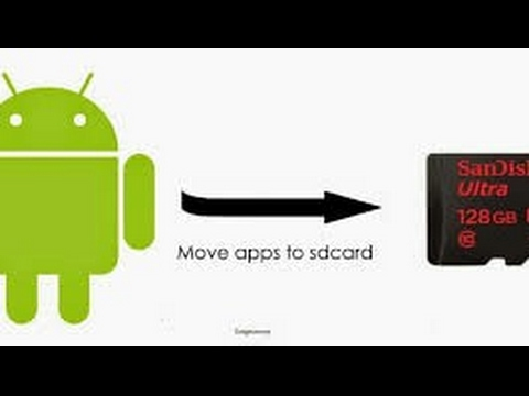 Move unmovable apps to SD card