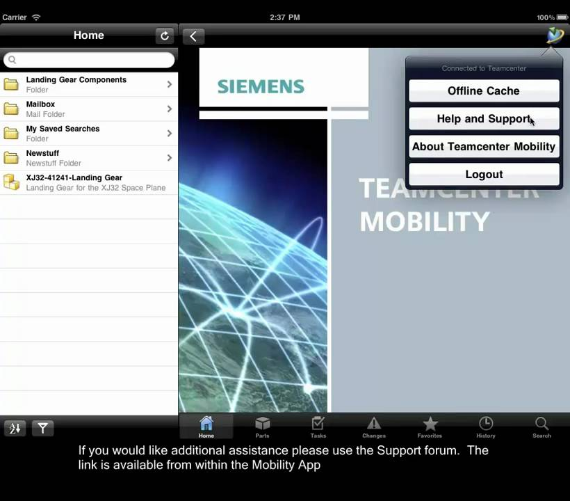 Teamcenter Mobility Tutorial