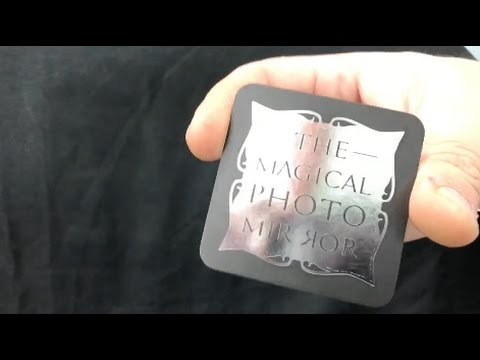 Magical Photo Mirror Business Card Youtube