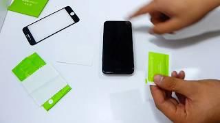 Как приклеить защитное 3D стекло/+Обзор Premium 3D стекла Hoco для iPhone