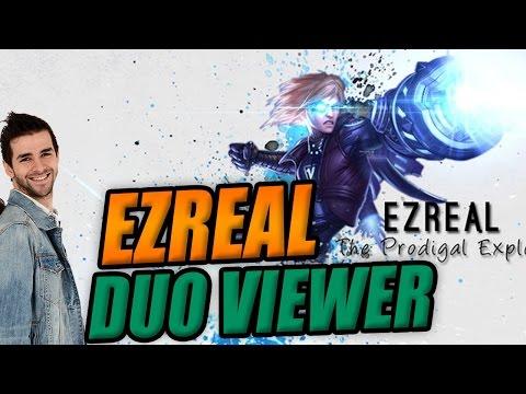 Ezreal ADC Bot Skyyart DuoQ avec Viewers LoL FR - On explique un peu les mecanics =D
