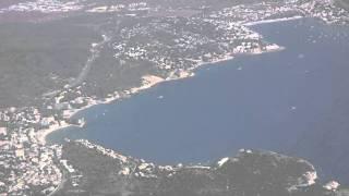 Landing at Palma Airport, Mallorca - 18th August, 2011