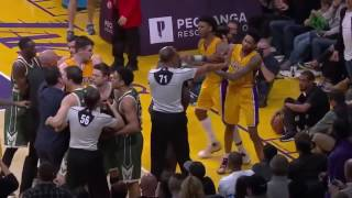 CRAZIEST NBA FIGHTS 2017!