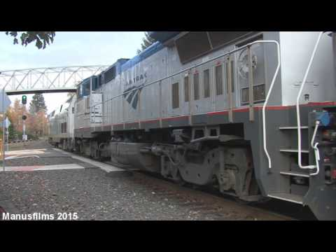 Amtrak Coast Starlight #14 At Salem, OR
