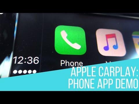Apple CarPlay in Your Volkswagen: Phone App Demo