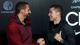 LE PREGUNTAN A FERDINAND QUIEN ES EL MEJOR JUGADOR (Vaya Respuesta de Cristiano Ronaldo)