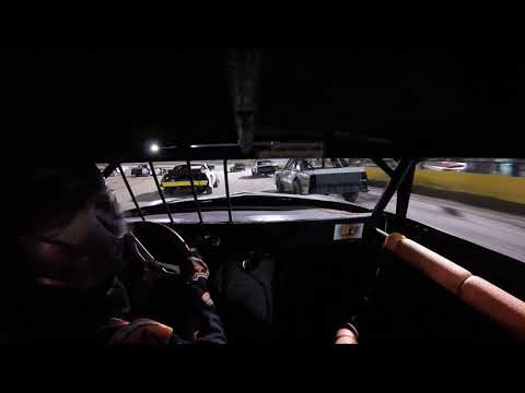 11.2.19 V8 Warriors. Feature. #87 in car cam. Part 1 of 3. - dirt track racing video image