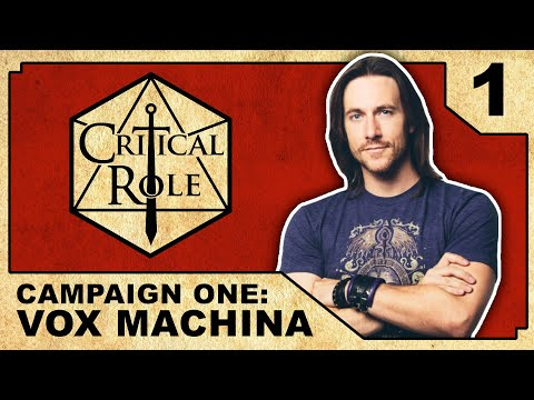 Arrival at Kraghammer  - Critical Role RPG Show: Episode 1