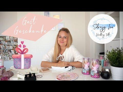 GASTGESCHENKE | Hochzeit | Trauzeugin Brautjungfer Mutter Gäste Kinder Verlobter | Solvejg Lea