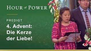 4. Advent: Die Kerze der Liebe!