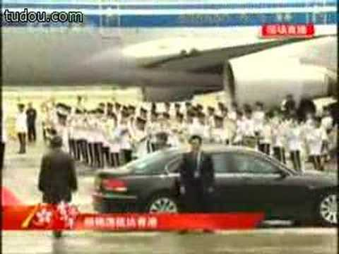 Chinese President Hu Jintao's bodyguards