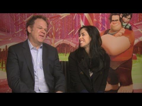 INTERVIEW: Wreck-It Ralph's Sarah Silverman & John C. Reilly