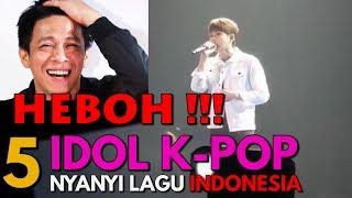 Gambar cover Bikin Histeris! Penampilan Bintang Korea Selatan Nyanyi Lagu Indonesia