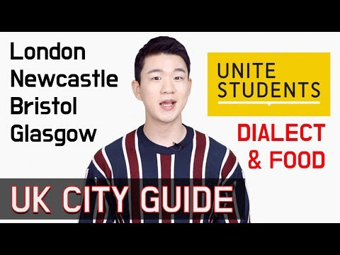 UK City Guide - London / Newcastle / Bristol / Glasgow | Dialect and Places to Visit  [Korean Billy]