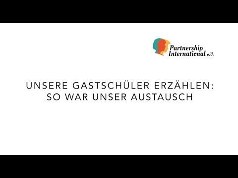 Unsere Gastschüler Erzählen: Unser Austausch In Deutschland