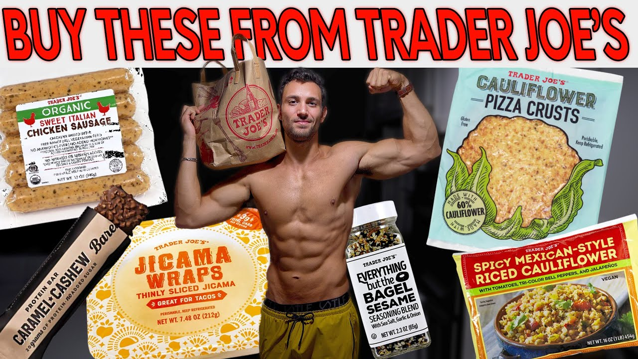 2021 LOW Calorie HIGH Volume Trader Joe's Grocery Haul + Anabolic Recipes!