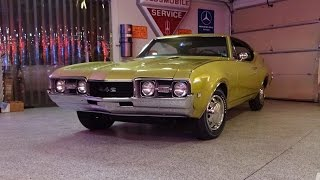 1968 Olds FWD Fouranado Oldsmobile 442 1 of 1 & Engine Sound on My Car Story with Lou Costabile