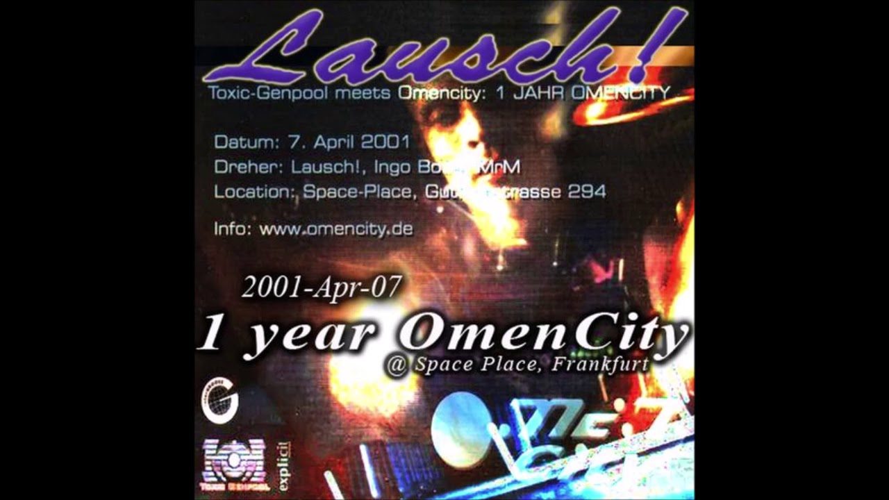 Lausch 1 Year Omen City Space Place Frankfurt 2001 Youtube