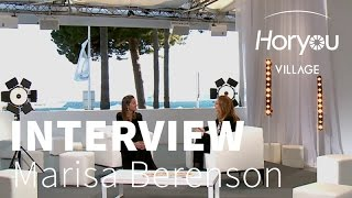 Interview with Marisa Berenson - Horyou Village @ Cannes Festival 2015