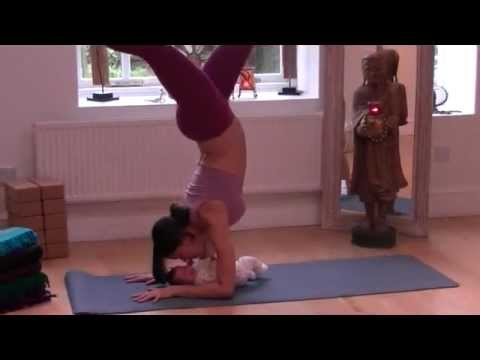 Flow Yoga Baby Vinyasa Flow Yoga Instructor Mercedes Ngoh And 3