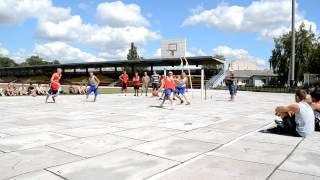 BK Nizin vs Beria.MOV(Турнир по уличному баскетболу Varva Streetball Challenge 911. Полуфинал: БК