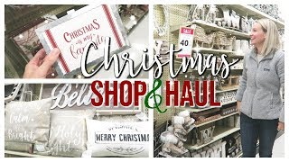 HOBBY LOBBY CHRISTMAS 2018 | SHOP WITH ME & HAUL!