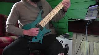 """Haken """"Canary Yellow"""" GUITAR COVER"""